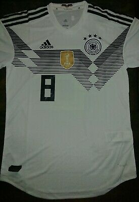 8760563f ADIDAS TONY KROOS Germany Away Jersey World Cup 2018 Patches ...