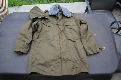 Original Czech Army M85 Jacket Fur liner military mens