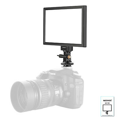 Neewer Photography 18W Dimmable LED Video Light with LCD Display for Canon Nikon