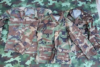US Army Woodland BDU Marine/Airforce Desert storm Afghanistan AUTHENTIC