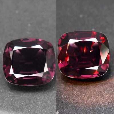 5.37ct.Fantastic Gem! 100%Natural Top Color Change Spinel Unheated AA Rare Nr!