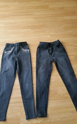 Girls Jeans 11-12 Years