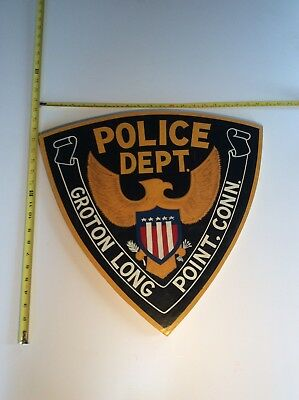 Groton Long Point Police Department Sign