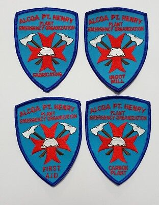 ALCOA Pt Henry Emergency Services Patches
