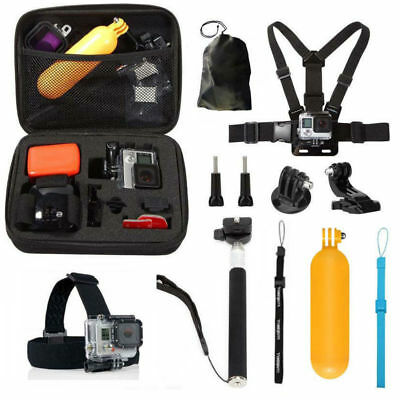 10 in 1 Sport Action Camera Accessories Kit for Gopro Hero 4 5 6 w/ Storage Box
