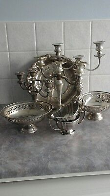Job Lot of vintage  Silver plated items