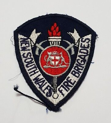New South Wales Fire Brigades Patch