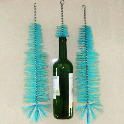 44cm Bottle Cleaning Brush Kitchen Brew Long Handle Scrubbing Cleaning Tool