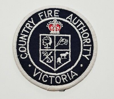 Country Fire Authority Victoria Patch