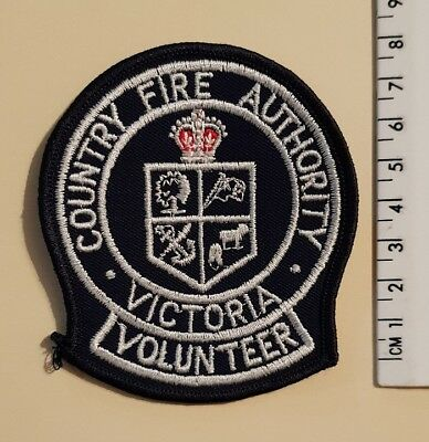 Country Fire Authority Volunteer Patch