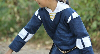Abito Medioevale Bambina 8 Anni/ Medieval Dress Girl 8 Years