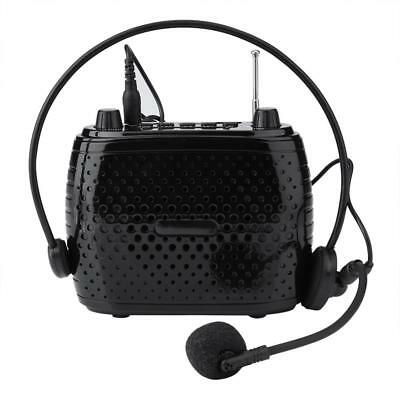 Portable Voice Amplifier Booster Headset Mic Loud Speaker Waistband w/Microphon