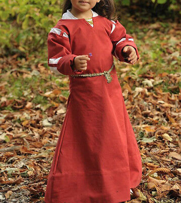 Abito Medioevale Bambina 4-6 Anni/ Medieval Dress Girl 4-6 Years