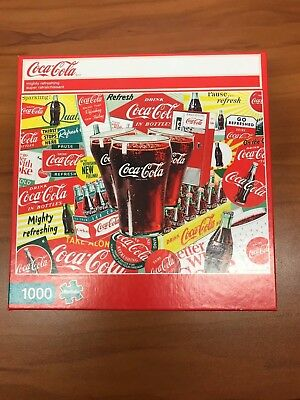 Coca Cola Puzzle NEW 1000 pieces
