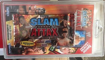 Booster 6 Cartes Topps Slam Attax - Neuf - Edition 2008