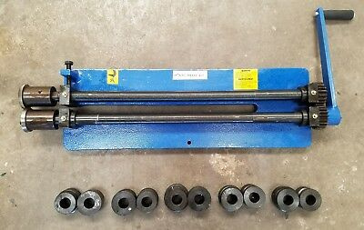 Bead Roller Kit with 5 mandrels and Sheet metal cutting shear