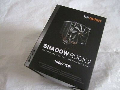 be quiet! Shadow  Rock 2 - be quiet! BK013 Prozessorkühler-NEU-OVP~~~~~~
