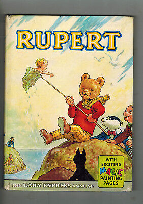RUPERT ANNUAL 1963 original book - Magic Painting pages not done!