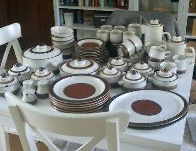 Denby Potters Wheel, dinner service & tea set