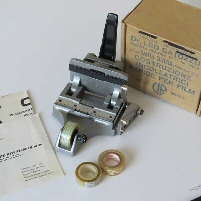 16mm Film Splicer by Dr Leo Catozzo - Professional Grade Heavy Duty