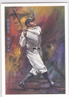 Ted Williams Card Company 1993 Locklear Collection #LC6 Babe Ruth