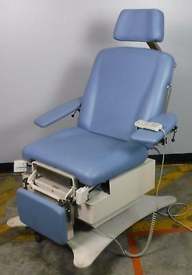 Legacy 4010 Medical Power Table Chair 4 Way Power Arm Head Rest Stirrups WORKING