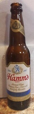 Hamms Beer Bottle- Pabst Brewing Company bottom of the label.