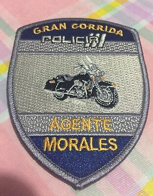 Puerto Rico Police Patch... Great Runnig (Agent Morales)