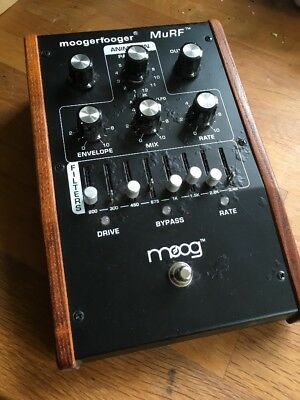 Moog moogerfooger mf 105 murf filter pedal rare discontinued pedal