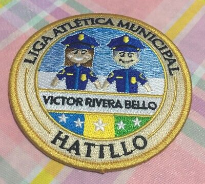 Puerto Rico Police Patch... Municipality Of Hatillo