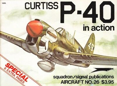 Squadron Signal Aircraft 26 Curtiss P-40 in action  ( 2. Weltkrieg Luftwaffe )