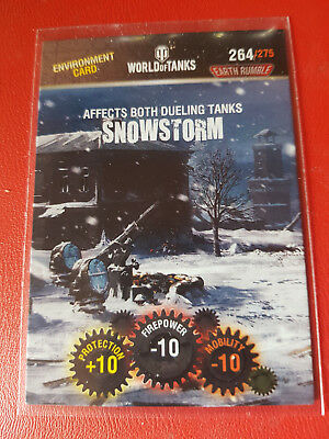 "Panini - World of Tanks - Trading Card - Nr 264 ""Snowstorm"""