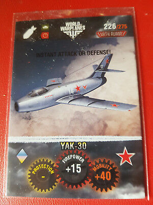 "Panini - World of Tanks - Trading Card - Nr 226 ""YAK-30"""