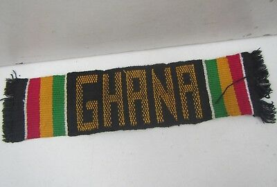 Vintage Embroidered Ghana Africa, Fabric Book Marker