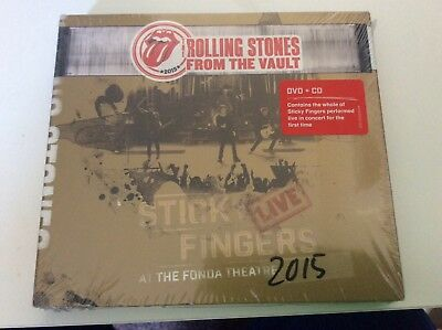 Rolling Stones From The Vault Dvd + Cd New/sealed.