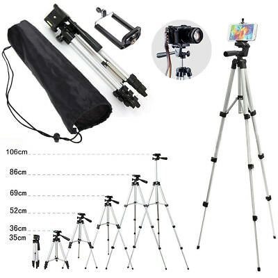 Professional Camera Tripod Stand Holder Ball Head Bag for DSLR Canon Nikon Phone