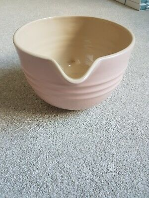 Le Creuset Stoneware Mixing Jug - Chiffon Pink - Never Used