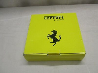 Official Ferrari Product Ash Tray Yellow Boxed