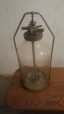 Antique Wisconsin glass milk jar, from WI the dairy state