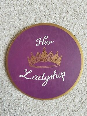 Majestic Placemats Drinks Coasters Mat Her Ladyship