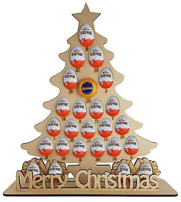 Christmas Tree Fits Terry Chocolate Orange & Kinder Egg Advent Calendar