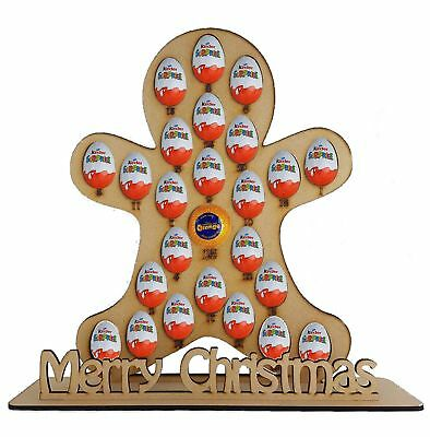 Gingerbread advent Fits Terry Chocolate Orange & Kinder Egg
