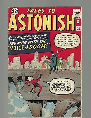 """Tales To Astonish #42 """"Coupon Cut"""" Ant Man"""