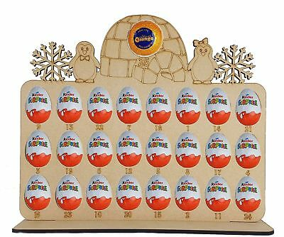 Advent Calendar Penguin Family Fits Terry Chocolate Orange & Kinder Egg