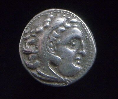 Greek Silver Drachm of Alexander III The Great, 336-323 BC,  AC0007