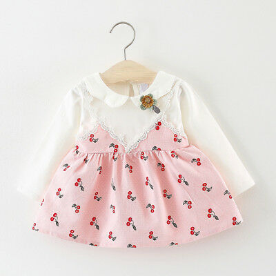 DIIMUU Newborn Baby Girls Clothes Dress Kids Girl Clothing Skirts Infant Dresses