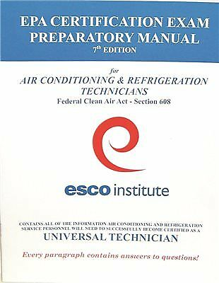EPA 608 CERTIFICATION & Epa 609 Certification Get Certified On Line ...