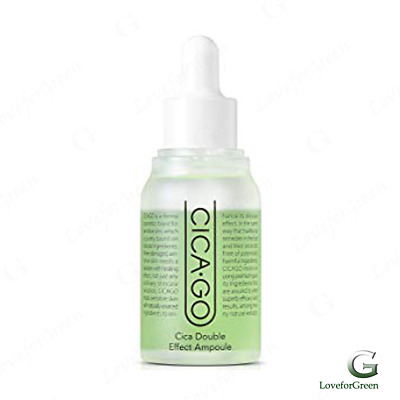 ISOI CICA-GO Cica Double Effect Ampoule 30ml (K-Beauty)