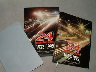 24 Heures du Mans, 1923-1992 [Two volume set in French & English Supplement]