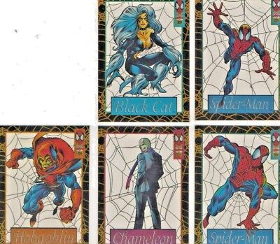 1994 FLEER SPIDERMAN SUSPENDED ANIMATION INSERTS (Buy 1 or 10)